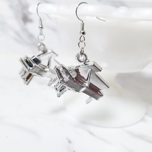 Vintage Plastic Grand Piano Kitsch Toy Earrings